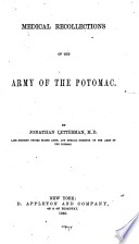 Medical recollections of the Army of the Potomac.