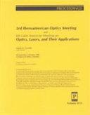 3rd Iberoamerican Optics Meeting and 6th Latin American Meeting on Optics  Lasers  and Their Applications Book