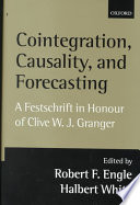Cointegration  Causality  and Forecasting