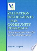 Validation Instruments for Community Pharmacy
