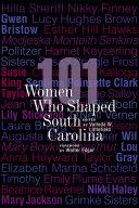 101 Women Who Shaped South Carolina Pdf/ePub eBook