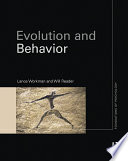 Evolution And Behavior Book PDF