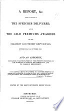 A report &c. [of the first annual festival of the Holy gild of st. Joseph] with an account of the speeches delivered, and of the gild premiums awarded for the cleanest and tidiest kept houses, ed. by bishop Gillis