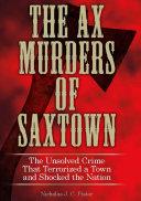Ax Murders of Saxtown
