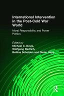 International Intervention in the Post-Cold War World