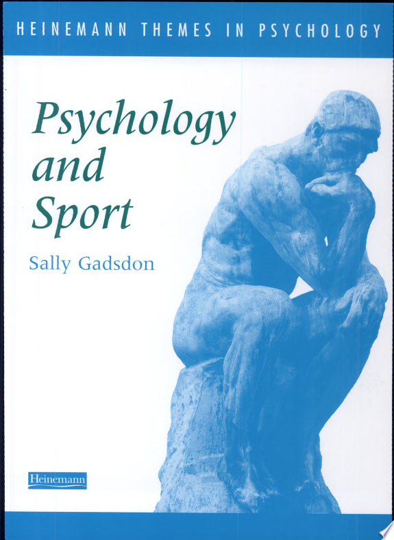 Psychology and Sport