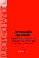 Democratising Capitalism