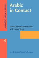 Arabic in Contact Pdf/ePub eBook