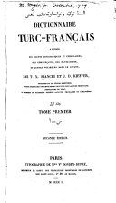 Dictionnaire turc-français