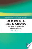 Barbarians in the Sagas of Icelanders Book
