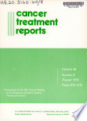 Cancer Treatment Reports