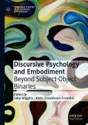 Discursive Psychology and Embodiment Pdf/ePub eBook