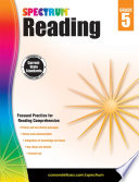 Spectrum Reading Workbook Grade 5