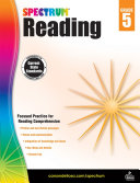 Spectrum Reading Workbook  Grade 5