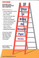 10 Steps in Writing the Research Paper Book