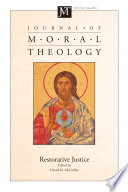 Journal Of Moral Theology Volume 5 Number 2