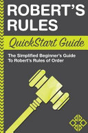Robert s Rules Book