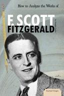Pdf How to Analyze the Works of F. Scott Fitzgerald