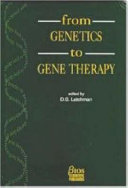 From Genetics to Gene Therapy Book