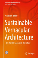 Pdf Sustainable Vernacular Architecture