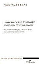 Pdf Conférences de Stuttgart Telecharger