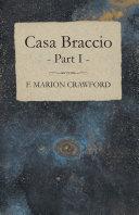 Casa Braccio - Part I Pdf/ePub eBook