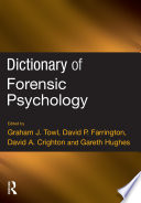 Dictionary of Forensic Psychology Book