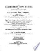 The Carpenter's New Guide ... The Seventh Edition, Corrected and Enlarged
