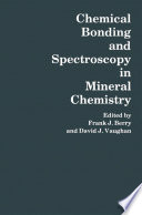 Chemical Bonding and Spectroscopy in Mineral Chemistry Book