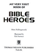 My Very First Book of Bible Heroes Book PDF