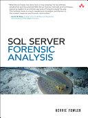 SQL Server Forenisc Analysis Book
