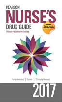Pearson Nurse s Drug Guide 2017 Book