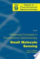 Advanced Concepts In Fluorescence Sensing Book PDF