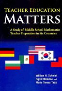 Teacher Education Matters