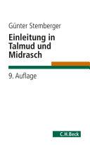 Einleitung in Talmud und Midrasch