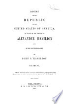 History of the Republic of the United States of America Book