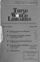Thi3d I E Third World Libraries