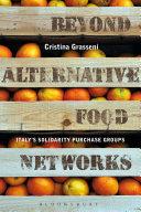 Pdf Beyond Alternative Food Networks Telecharger