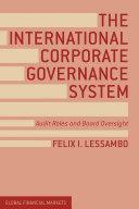 The International Corporate Governance System