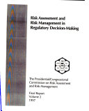 Final Report  Risk assessment and risk management in regulatory decision making