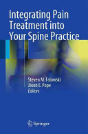 Integrating Pain Treatment into Your Spine Practice Book