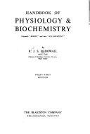 Handbook Of Physiology Biochemistry Originally Kirkes And Later Halliburton S