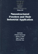 Nanostructured Powders and Their Industrial Applications