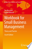 Workbook For Small Business Management