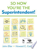 So Now You re the Superintendent  Book