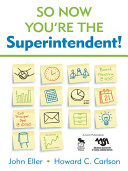 So Now You re the Superintendent