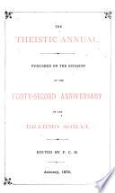 The Theistic Annual Book PDF