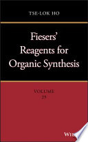 Fiesers Reagents For Organic Synthesis Book PDF