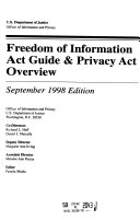 Freedom of Information Act Guide   Privacy Act Overview