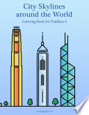 City Skylines around the World Coloring Book for Toddlers 6